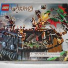 LEGO 7019 - Viking Fortress Against The Fafnir Dragon - Vikings - 2005 - Box Only
