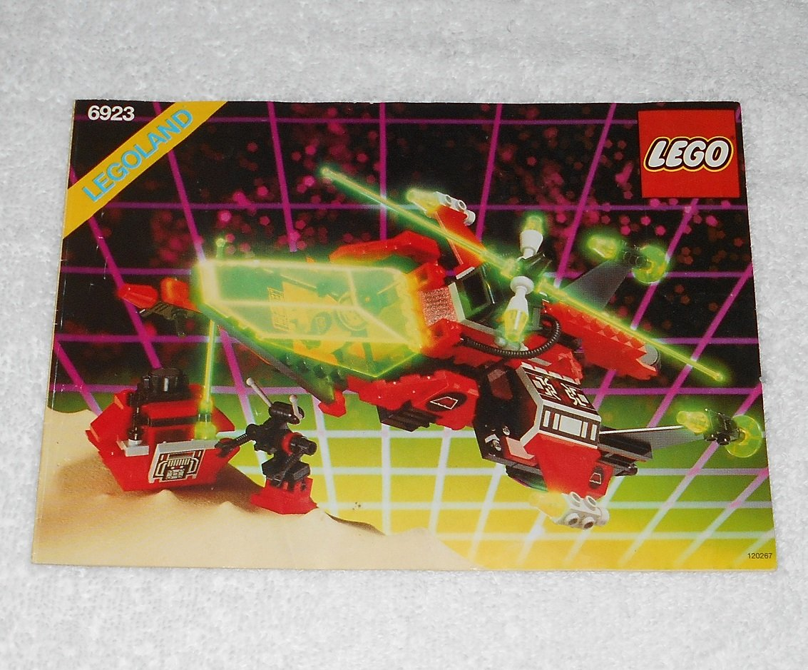 LEGO 6923 - Particle Ionizer - M:Tron - 1990 - Instructions Only