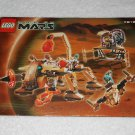 LEGO 7316 - Excavation Searcher - Life On Mars - 2001 - Instructions Only