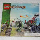 LEGO 7038 - Troll Assault Wagon - Castle - 2008 - Instructions Only