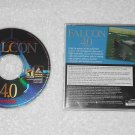 Falcon 4.0 - Flight Simulator PC Game - Hasbro Microprose - 2000 - CD-ROM & Case Only - English