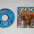 Zoo Tycoon - PC Game - Microsoft - 2001 - CD-ROM & Sleeve Only - English