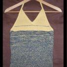 Yellow and Navy halter tank.