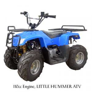 110cc 4-stroke kids ATV WHEELER with racks free shipping