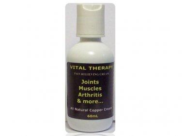 VITAL THERAPY PAIN RELIEVING COPPER CREAM - 2oz/60g