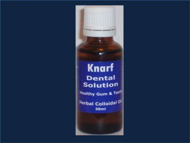 KNARF DENTAL SOLUTION  -  30Ml