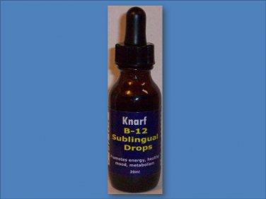 Vitamin B12 Sublingual Liquid Drops  - 30mL