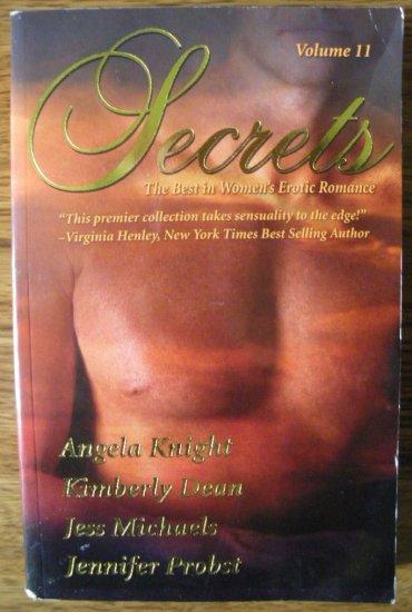 SECRETS Volume 11 by Angela Knight, Kimberly Dean, Jess Michaels, & Jennifer Probst