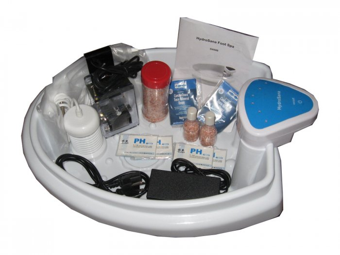 Sonas 6 Platinum- Ionic Foot Detox Bath with Tub, Array,1 Sonas American Array, and tons of extras