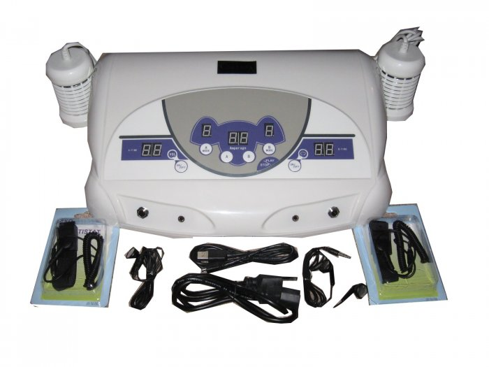 Sonas 66 Basic- Dual Ionic Foot Detox Bath with MP3 and 2 Array's