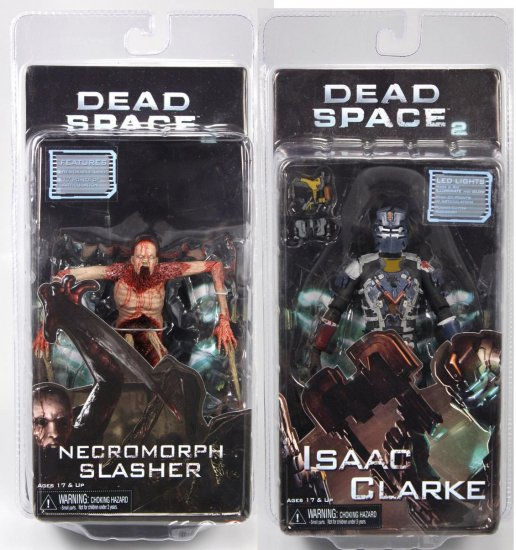 Dead Space 2: Isaac Clarke & Necromorph Slasher Action Figure Set (IN-STOCK)