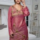 PINK DESIGNER TUNICS WITH BEADS WORKS