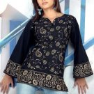 Block synthetic Designer Women Tunic Top