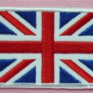 UK UNION JACK ENGLAND FLAG Embroidered Applique Sew Iron On Patch