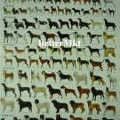 1 Sheet ULTIMATE DOGS Breeds Chart Educational POSTER 21.5x31 Inches