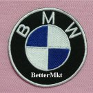 BMW BIKE RACING MOTOR CAR MOTORCYCLE LOGO Iron on Patch