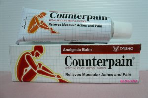 Counterpain Analgesic Balm 30g Relief Muscular Aches Arthritic Rheumatic Strains