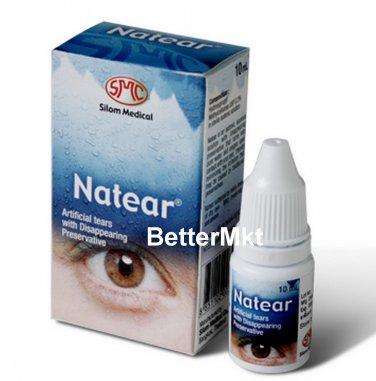Natear Artificial Tears Sterile Eye Drops Relief Eye Discomfort Dry Eye Symptoms