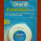 Oral B Essential Floss Waxed Dental Floss Mint Flavor 50m Remove Plaque Brush Can't Reach