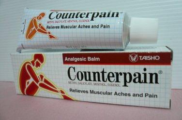 Counterpain Analgesic Balm 60g Relief Muscular Aches Arthritic Rheumatic Strains