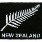 New Zealand All Blacks Flag Embroidered Applique Badge Sewing Iron on Patch
