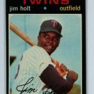 1971 Topps Baseball #7 Jim Holt Twins EXMT