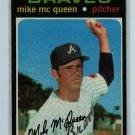 1971 Topps Baseball #8 Mike McQueen Braves EX/EXMT