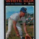 1971 Topps Baseball #37 Rich McKinney White Sox VG/EX