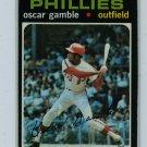 1971 Topps Baseball #23 Oscar Gamble Phillies EX