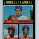 1971 Topps Baseball #72 Seaver/Jenkins/Gibson VG/EX