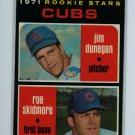 1971 Topps Baseball #121 Dunegan/Skidmore EX