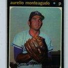 1971 Topps Baseball #129 Aurelio Monteagudo Royals VG/EX