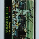 1971 Topps Baseball #131 Curt Blefary Yankees EX