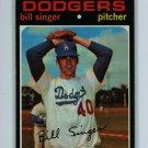 1971 Topps Baseball #145 Bill Singer Dodgers EX/EXMT