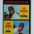 1971 Topps Baseball #188 Valentine/Strahler Dodgers EX