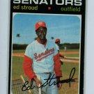 1971 Topps Baseball #217 Ed Stroud VG/EXMT