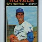 1971 Topps Baseball #221 Dave Morehead Royals EX
