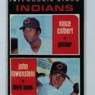 1971 Topps Baseball #231 Colbert/Lowenstein Indians EXMT