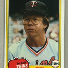 1981 Topps Baseball #657 Mike Cubbage Twins Pack Fresh