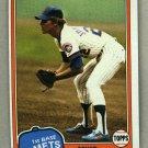 1981 Topps Baseball #698 Mike Jorgensen Mets Pack Fresh