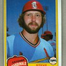 1981 Topps Baseball #541 Steve Swisher Cardinals Pack Fresh