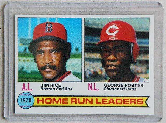1979 Topps Baseball #2 Rice/Foster Home Run Leaders Pack Fresh