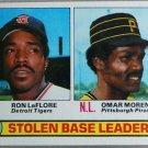 1979 Topps Baseball #4 LeFlore/Moreno Stolen Base Leaders Pack Fresh