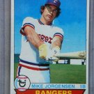 1979 Topps Baseball #22 Mike Jorgensen Rangers Pack Fresh
