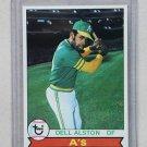 1979 Topps Baseball #54 Dell Alston A's Pack Fresh
