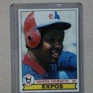 1979 Topps Baseball #76 Warren Cromartie Expos Pack Fresh