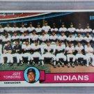 1979 Topps Baseball #96 Indians Team Checklist Pack Fresh