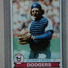 1979 Topps Baseball #104 Johnny Oates Dodgers Pack Fresh