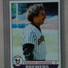 1979 Topps Baseball #108 Eduardo Rodriguez Brewers Pack Fresh