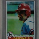 1979 Topps Baseball #111 Roger Freed Cardinals Pack Fresh